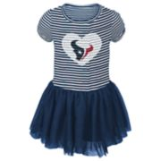 Toddler Girl Houston Texans Sequin Tutu Dress