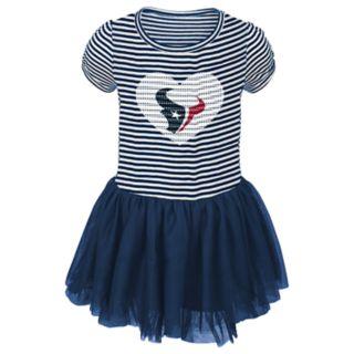Toddler Girl Houston Texans Sequin Tutu Dress