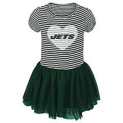 Baby Girl New York Jets Sequin Tutu Dress