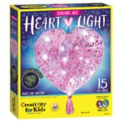 Creativity for Kids String Art Heart Light