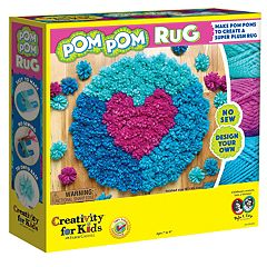 Creativity for Kids Pom Pom Rug