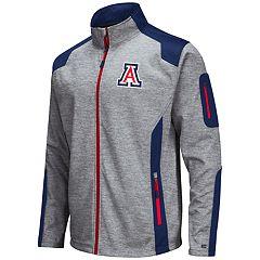 Men's Arizona Wildcats Double Coverage Softshell Jacket