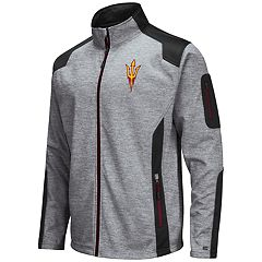 Men's Arizona State Sun Devils Double Coverage Softshell Jacket