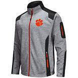 Men's Clemson Tigers Double Coverage Softshell Jacket