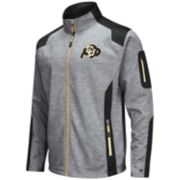 Men's Colorado Buffaloes Double Coverage Softshell Jacket