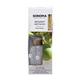 SONOMA Goods for Life? Bergamot Driftwood Reed Diffuser 12-piece Set