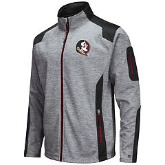 Men's Florida State Seminoles Double Coverage Softshell Jacket