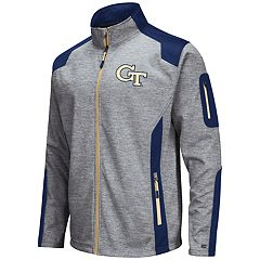 Men's Georgia Tech Yellow Jackets Double Coverage Softshell Jacket