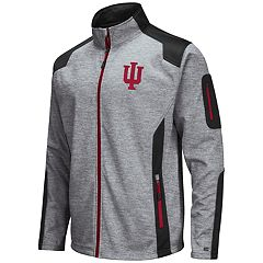 Men's Indiana Hoosiers Double Coverage Softshell Jacket