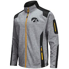 Men's Iowa Hawkeyes Double Coverage Softshell Jacket