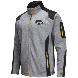 Men's Iowa Hawkeyes Double Coverage Softshell Jacket