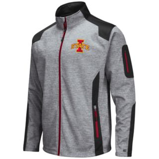Men's Iowa State Cyclones Double Coverage Softshell Jacket