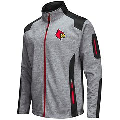 Men's Louisville Cardinals Double Coverage Softshell Jacket