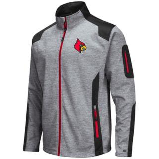 Men's Louisville Cardinals Double Coverage Softshell Jacket