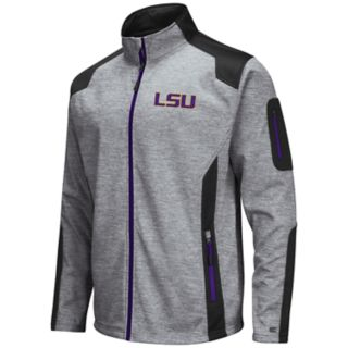 Men's LSU Tigers Double Coverage Softshell Jacket