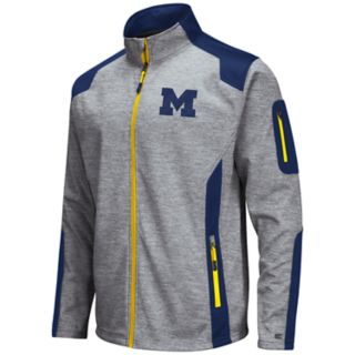 Men's Michigan Wolverines Double Coverage Softshell Jacket