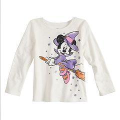 Disney's Minnie Mouse Toddler Girl Halloween Witch Graphic Tee by Jumping Beans®