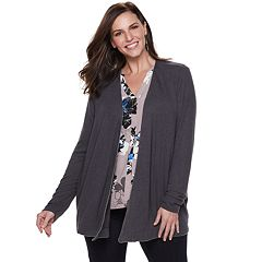 Plus Size Jennifer Lopez Studded Cardigan