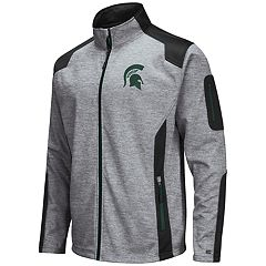 Men's Michigan State Spartans Double Coverage Softshell Jacket