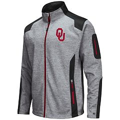 Men's Oklahoma Sooners Double Coverage Softshell Jacket