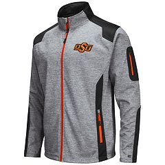 Men's Oklahoma State Cowboys Double Coverage Softshell Jacket