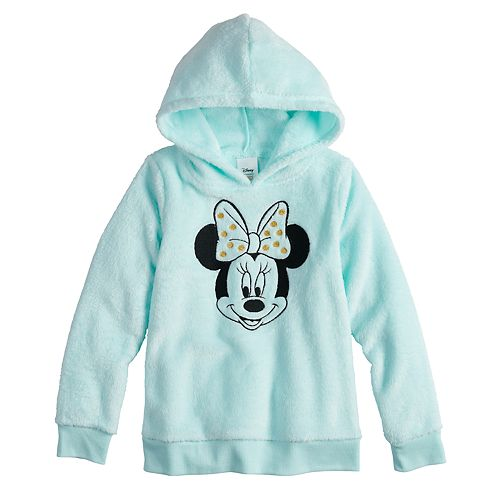 Disney's Minnie Mouse Girls 4-12 Embroidered Graphic Plush Hoodie by Jumping Beans®