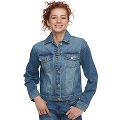 Juniors' Candie's® Denim Trucker Jacket