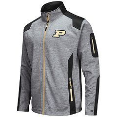 Men's Purdue Boilermakers Double Coverage Softshell Jacket