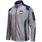 Men's UConn Huskies Double Coverage Softshell Jacket