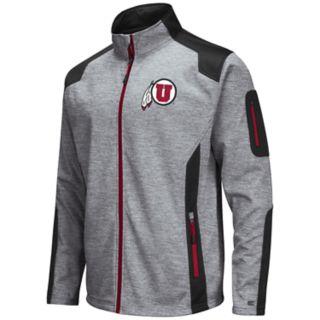 Men's Utah Utes Double Coverage Softshell Jacket