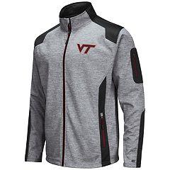 Men's Virginia Tech Hokies Double Coverage Softshell Jacket
