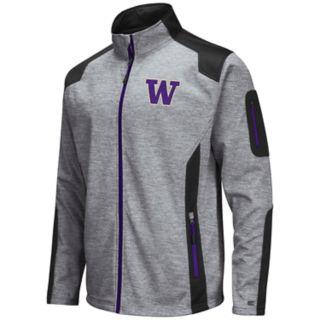 Men's Washington Huskies Double Coverage Softshell Jacket