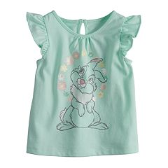 Disney's Thumper Baby Girl Flutter Sleeve Tee by Jumping Beans®