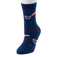 Jammies For Your Families Gingerbread Man Slipper Socks