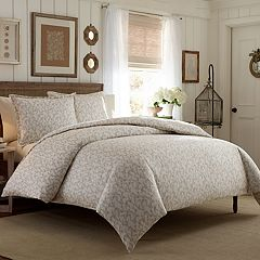 Laura Ashley Victoria Sateen Comforter Set