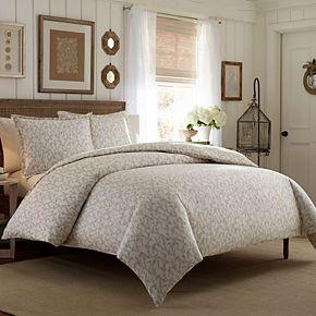 Laura Ashley Lifestyles Victoria Sateen Comforter Set