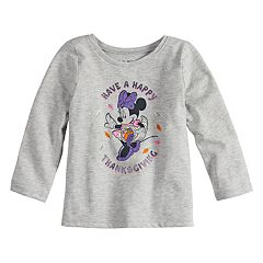 Disney's Minnie Mouse Baby Girl 'Have A Happy Thanksgiving' Long Sleeve Tee by Jumping Beans®