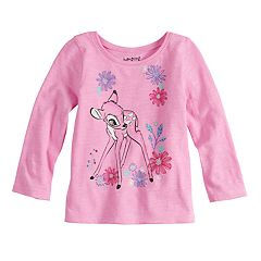 Disney's Bambi Baby Girl Long Sleeve Tee by Jumping Beans®