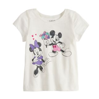 Disney's Mickey & Minnie Mouse Baby Girl Bouquet Tee by Jumping Beans®