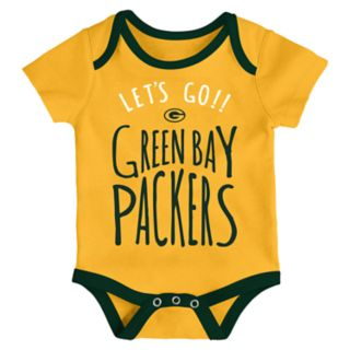 Baby Green Bay Packers Little Tailgater Bodysuit Set
