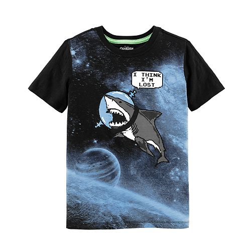 Boys 4-12 OshKosh B'gosh® Shark in Space Graphic Tee