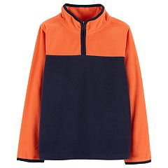 Boys 4-12 OshKosh B'gosh® Quarter Zip Fleece Pullover