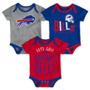 Baby Buffalo Bills Little Tailgater Bodysuit Set