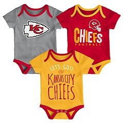Baby Kansas City Chiefs Little Tailgater Bodysuit Set