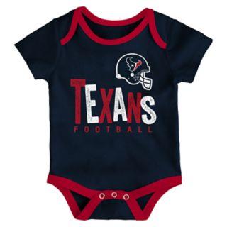 Baby Houston Texans Little Tailgater Bodysuit Set