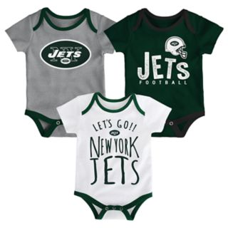 Baby New York Jets Little Tailgater Bodysuit Set