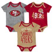 Baby San Francisco 49ers Little Tailgater Bodysuit Set