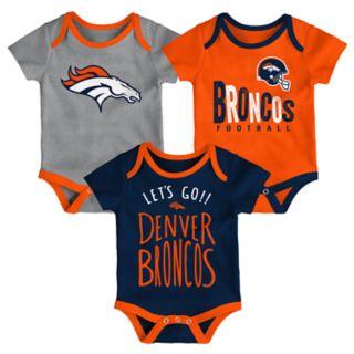 Baby Denver Broncos Little Tailgater Bodysuit Set