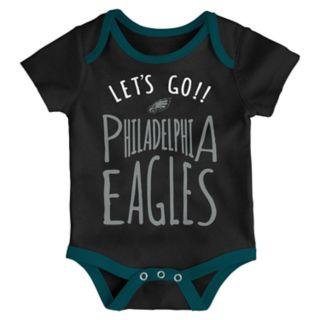 Baby Philadelphia Eagles Little Tailgater Bodysuit Set