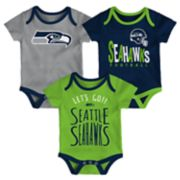 Baby Seattle Seahawks Little Tailgater Bodysuit Set